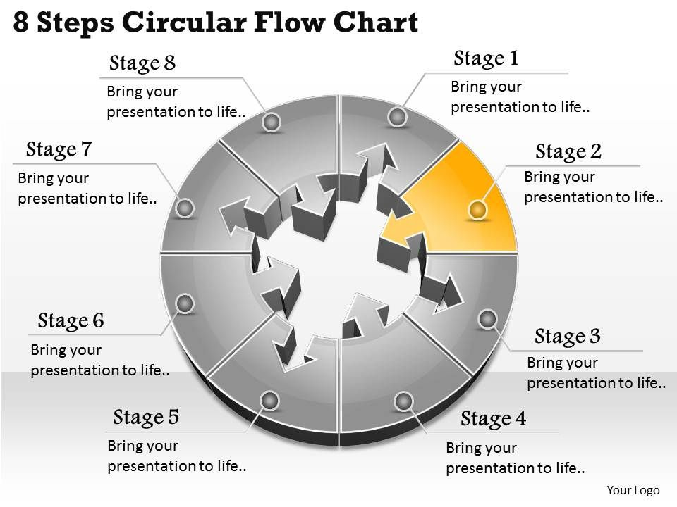 1013 busines ppt diagram 8 steps circular flow chart powerpoint, Powerpoint templates