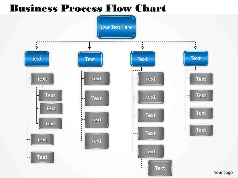 1013 Busines Ppt Diagram Business Process Flow Chart Powerpoint