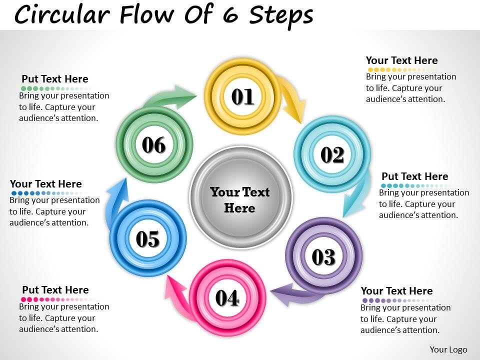 1013_busines_ppt_diagram_circular_flow_of_6_steps_powerpoint_template_Slide01