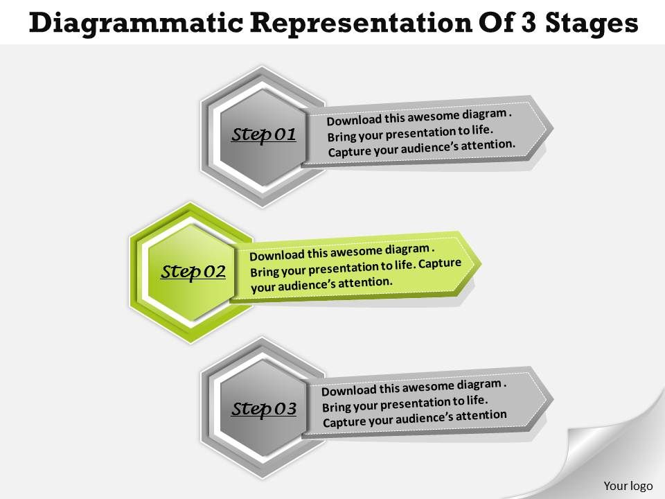 1013_busines_ppt_diagram_diagrammatic_representation_of_3_stages_powerpoint_template_Slide03