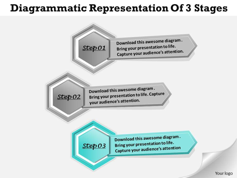 1013_busines_ppt_diagram_diagrammatic_representation_of_3_stages_powerpoint_template_Slide04
