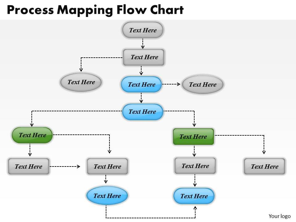 1013 Busines Ppt Diagram Process Mapping Flow Chart