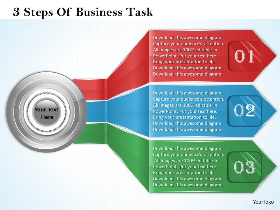 1013_business_ppt_diagram_3_steps_of_business_task_powerpoint_template_Slide01