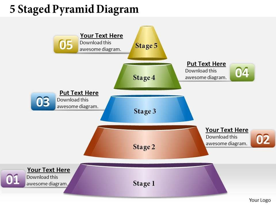 1013_business_ppt_diagram_5_staged_pyramid_diagram_powerpoint_template_Slide01