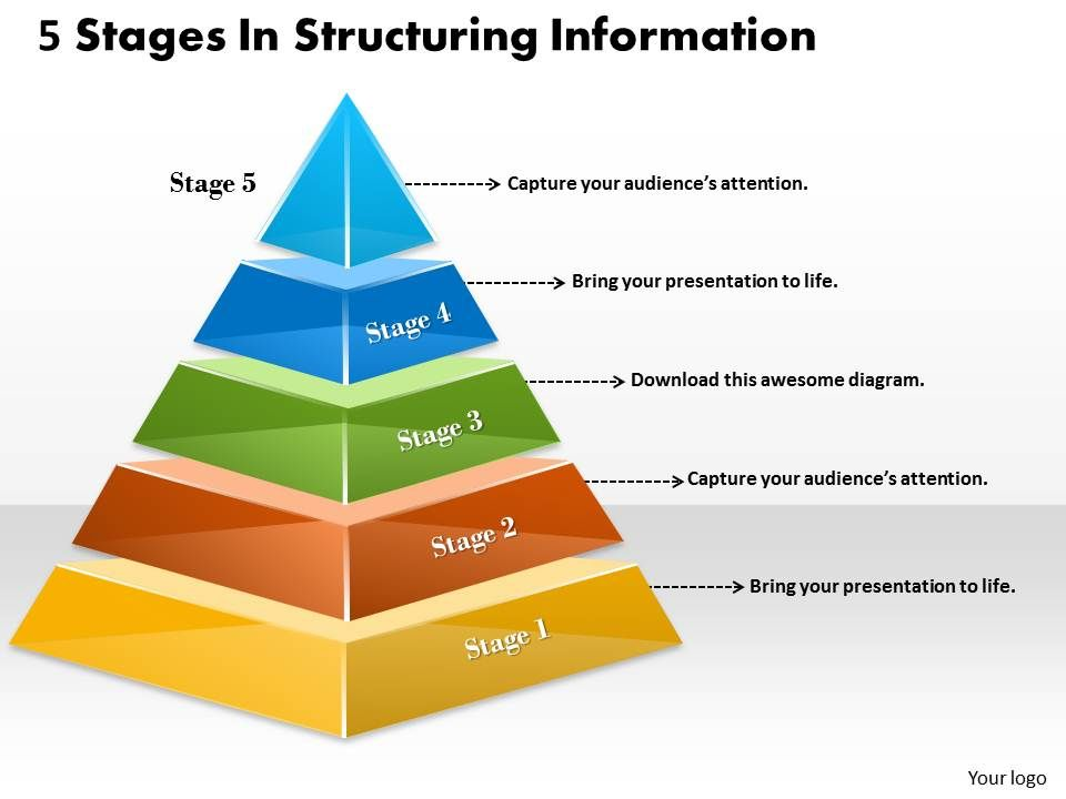 1013_business_ppt_diagram_5_stages_in_structuring_information_powerpoint_template_Slide01