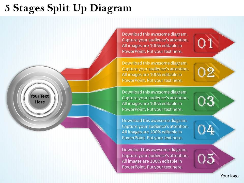 1013_business_ppt_diagram_5_stages_split_up_diagram_powerpoint_template_Slide01