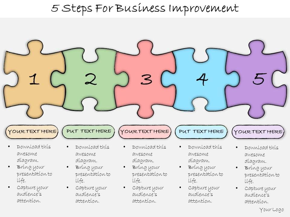 1013_business_ppt_diagram_5_steps_for_business_improvement_powerpoint_template_Slide01