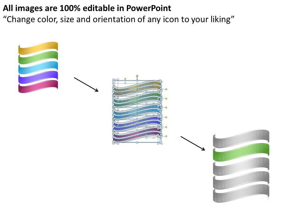 1013 business ppt diagram 5 steps for sales forecasting powerpoint, Modern powerpoint