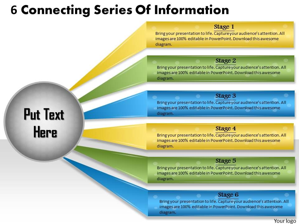 1013_business_ppt_diagram_6_connecting_series_of_information_powerpoint_template_Slide01