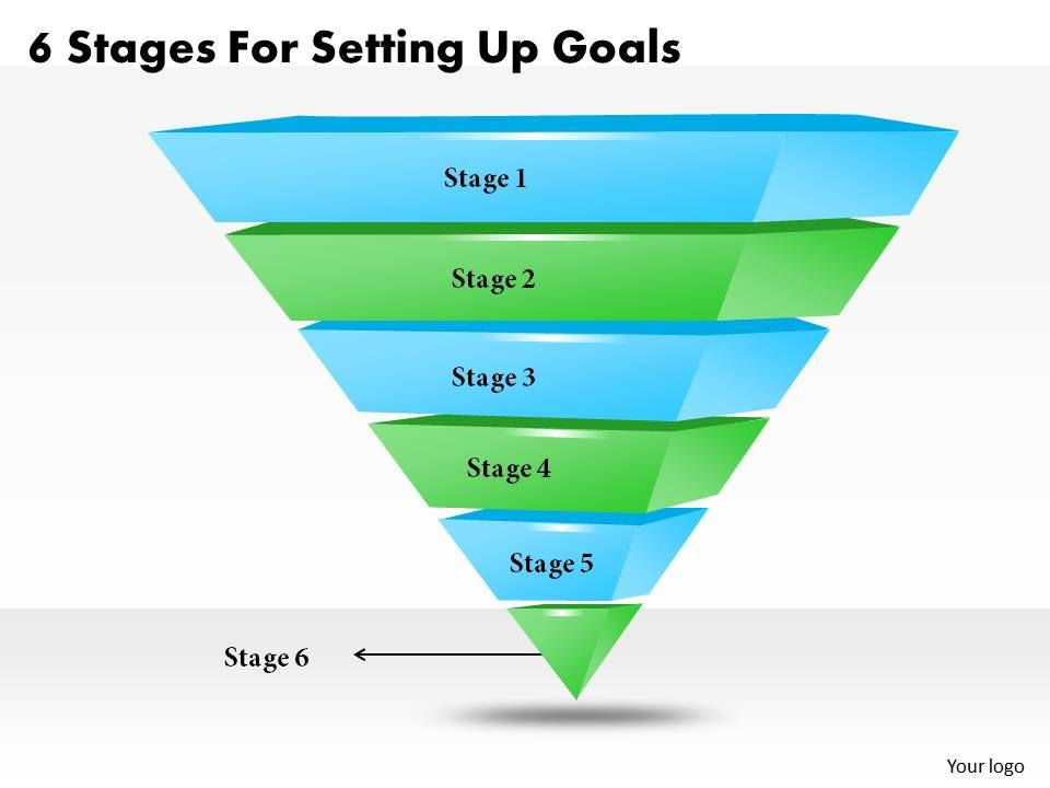 1013 Business Ppt Diagram 6 Stages For Setting Up Goals Powerpoint