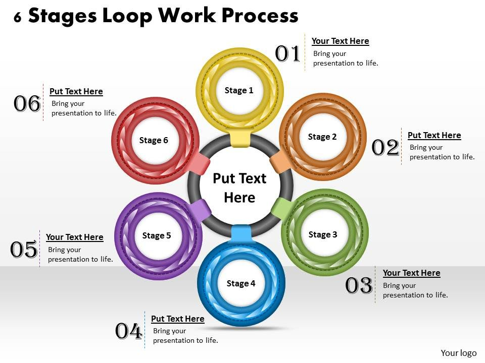 1013_business_ppt_diagram_6_stages_loop_work_process_powerpoint_template_Slide01