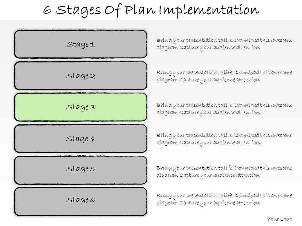 Implementation plan template example diagram6stagesofplanimplementationpowerpointtemplateslide04 project implementation plan template word cheaphphosting Choice Image