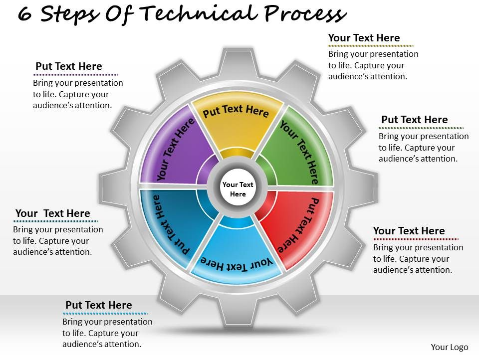 1013_business_ppt_diagram_6_steps_of_technical_process_powerpoint_template_Slide01