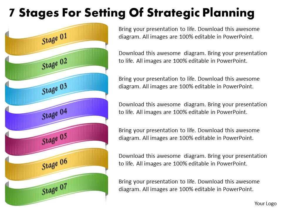 1013_business_ppt_diagram_7_stages_for_setting_of_strategic_planning_powerpoint_template_Slide01 1013 business ppt diagram 7 stages for setting of strategic planning