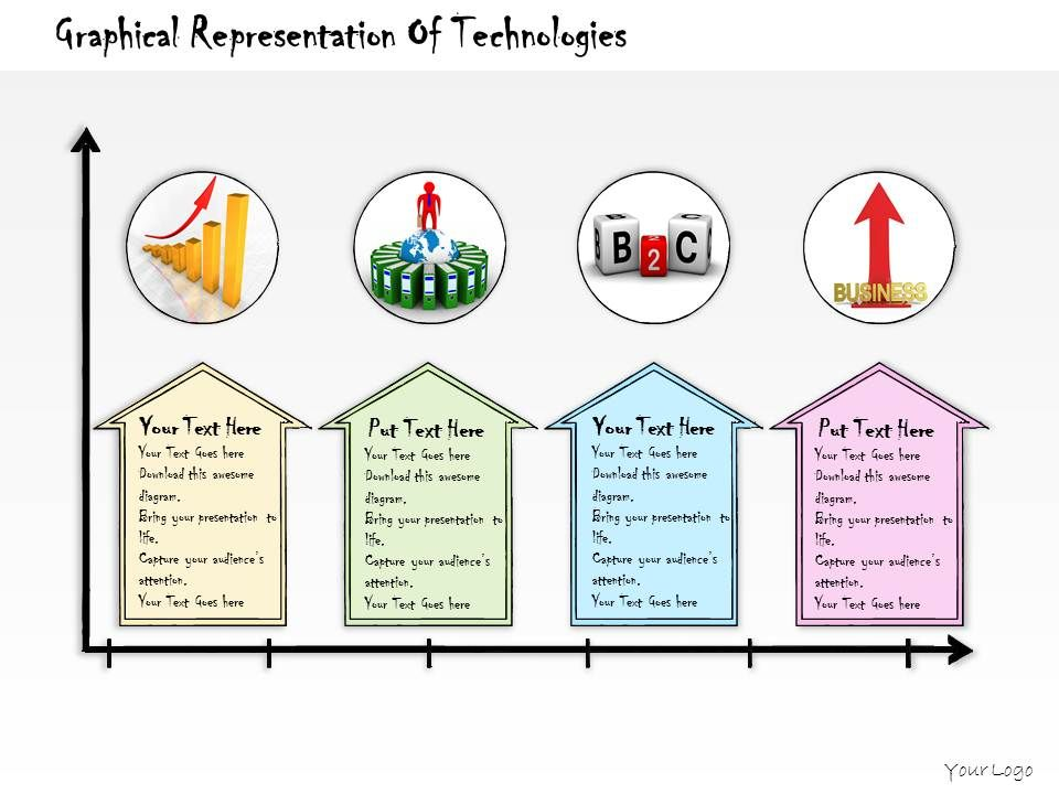 1013 business ppt diagram graphical representation of technologies