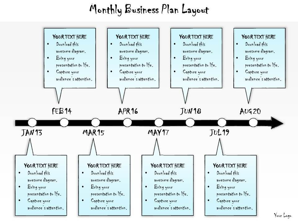 1013 business ppt diagram monthly business plan layout powerpoint 1013businesspptdiagrammonthlybusinessplanlayoutpowerpointtemplateslide01 accmission Gallery