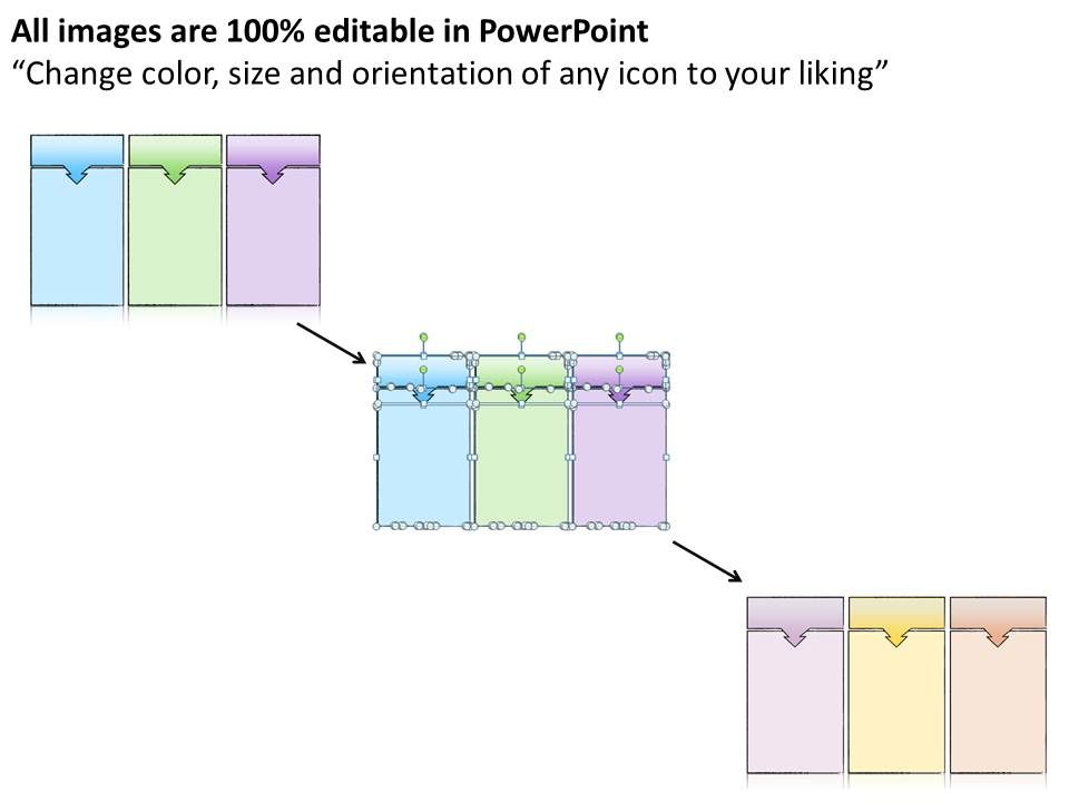 1013 business ppt diagram three sequence of events powerpoint ...