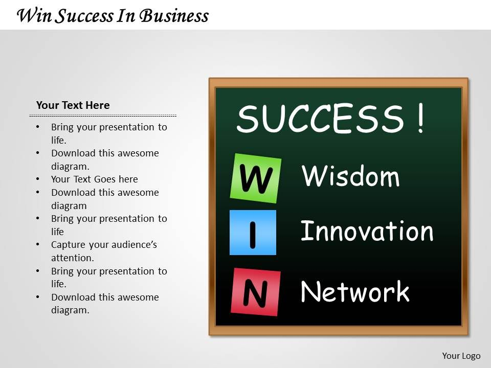 1103_consulting_diagram_win_success_in_business_mba_models_and_frameworks_Slide01