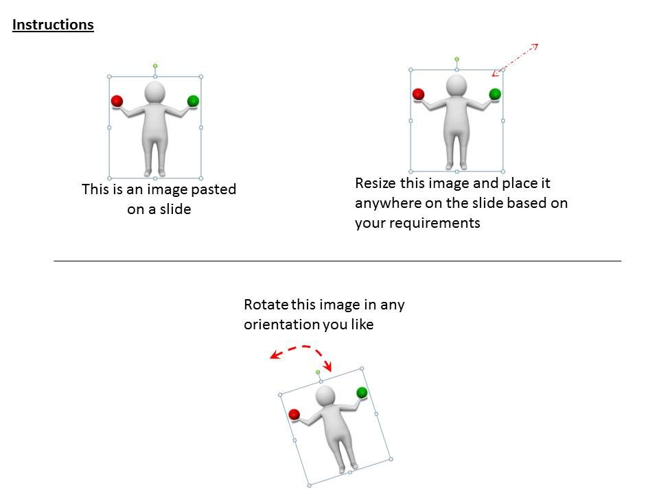 1113 3d man making balance ppt graphics icons powerpoint