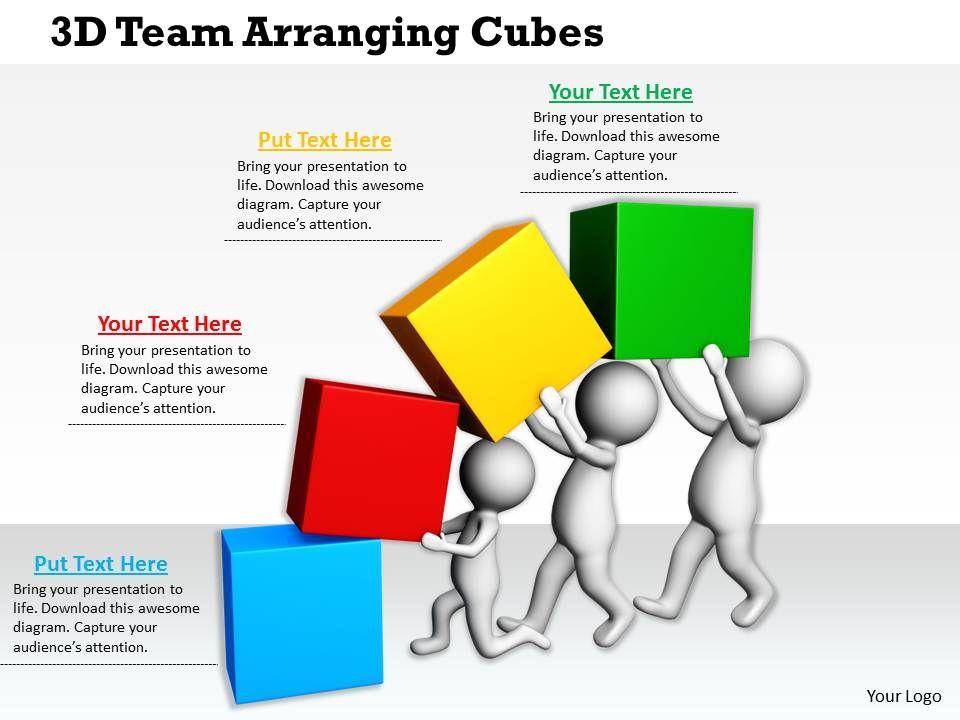 1113_3d_team_arranging_cubes_ppt_graphics_icons_powerpoint_Slide01