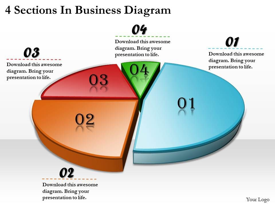 1113_business_ppt_diagram_4_sections_in_business_diagram_powerpoint_template_Slide01
