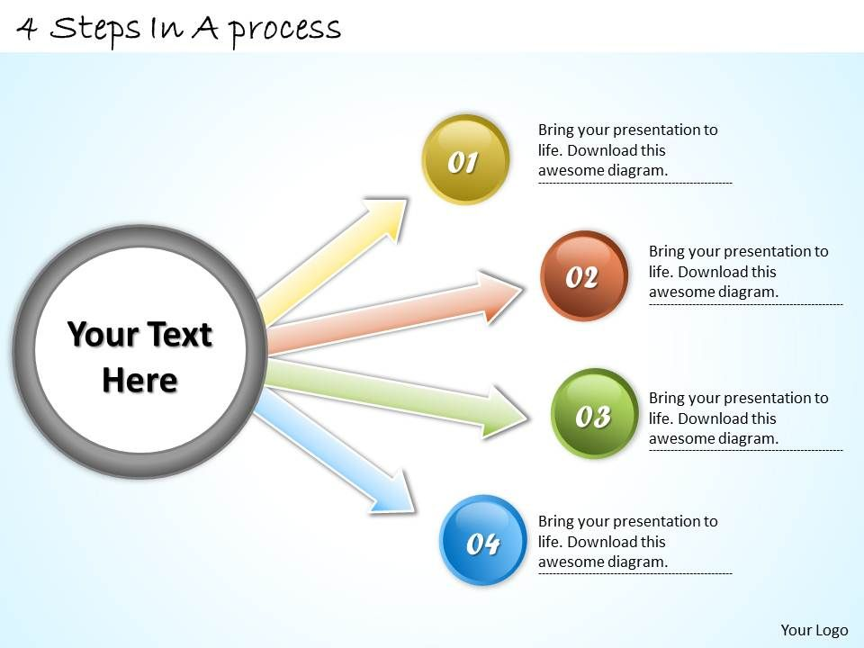 1113_business_ppt_diagram_4_steps_in_a_process_powerpoint_template_Slide01