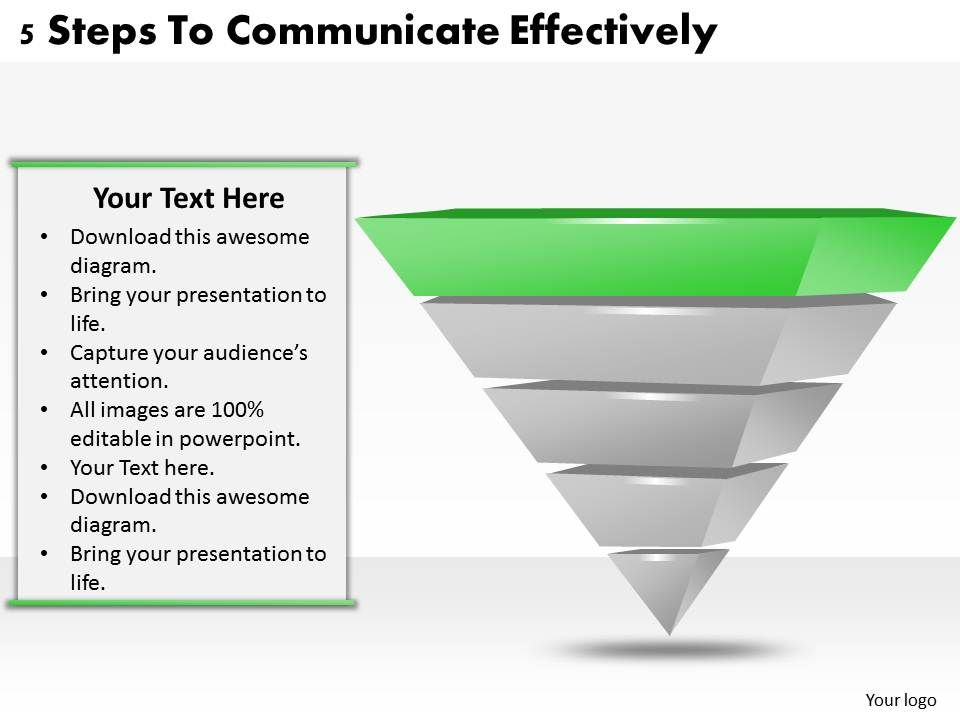 1113_business_ppt_diagram_5_steps_to_communicate_effectively_powerpoint_template_Slide02
