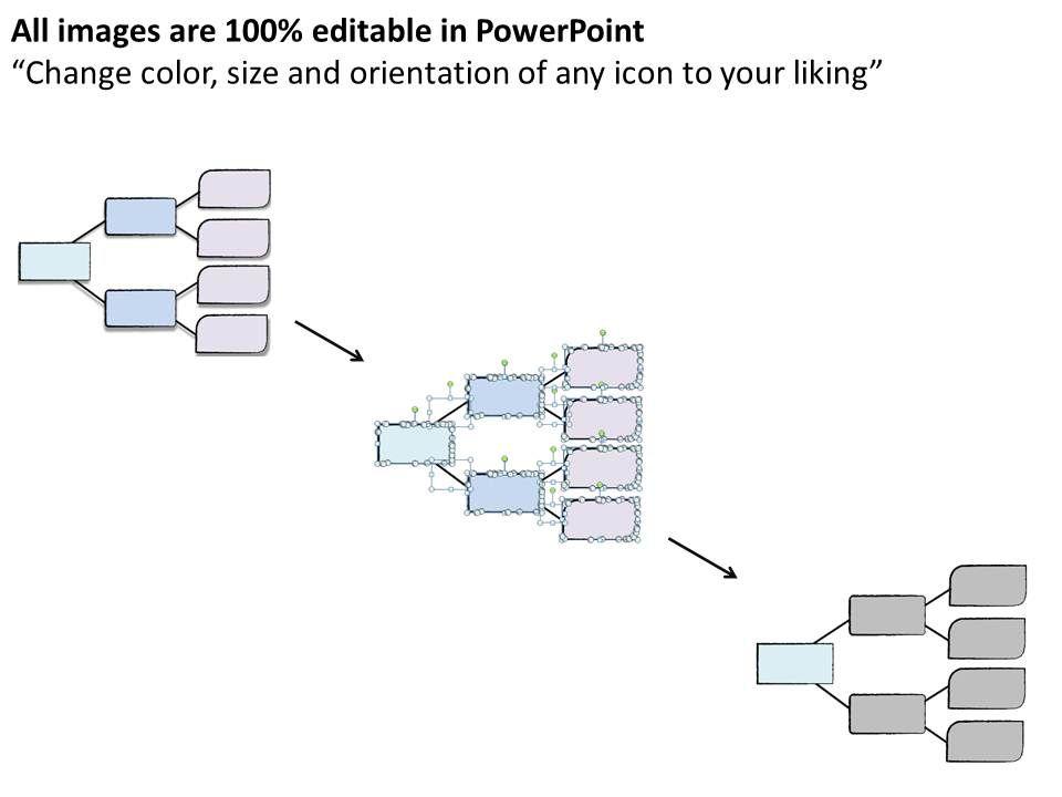 1113 business ppt diagram business decision tree diagram