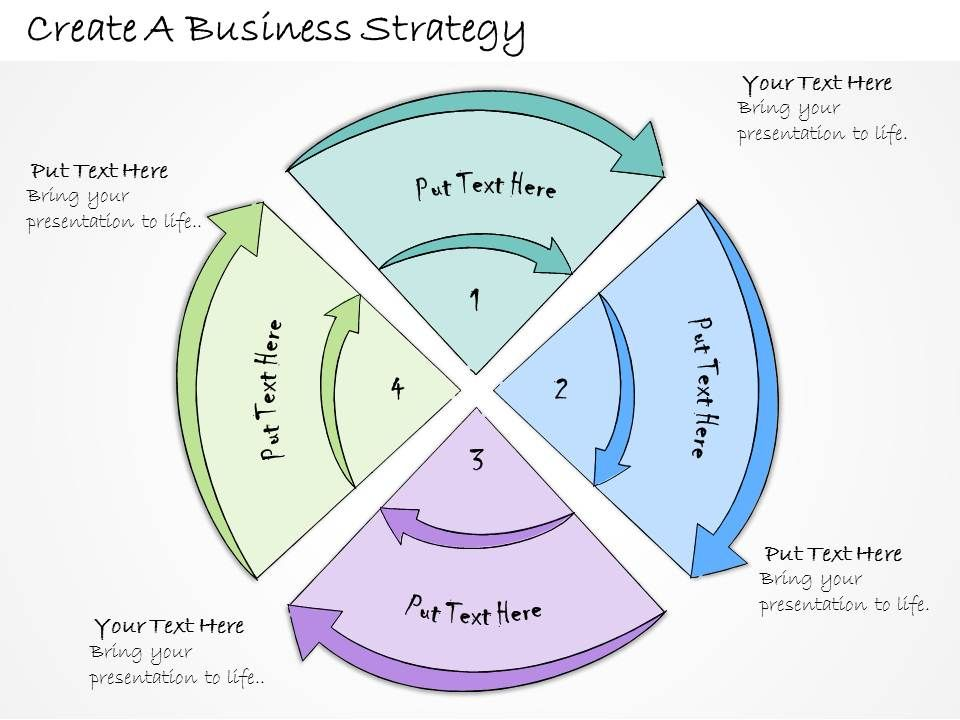 1113 Business Ppt Diagram Create A Business Strategy