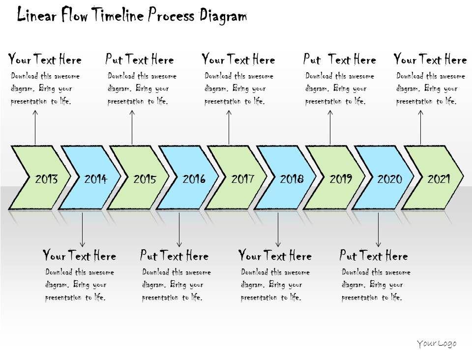 1113 business ppt diagram linear flow timeline process. Black Bedroom Furniture Sets. Home Design Ideas