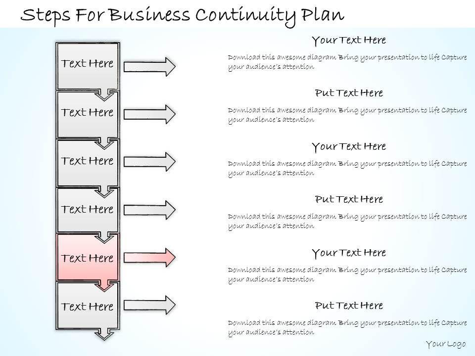 1113 business ppt diagram steps for business continuity. Black Bedroom Furniture Sets. Home Design Ideas