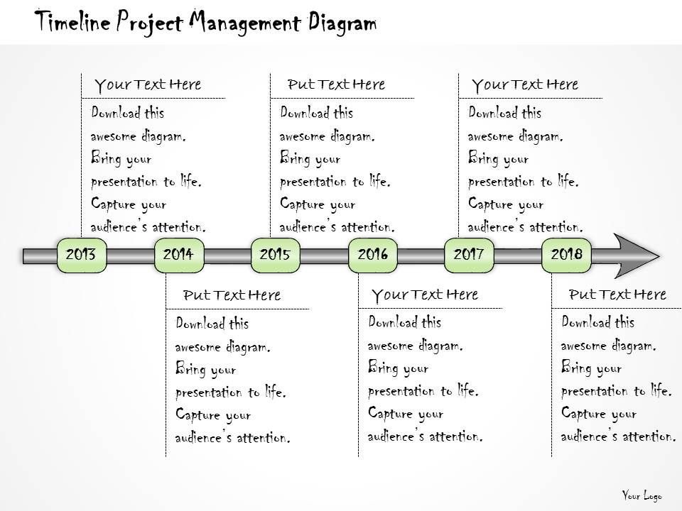 1113 business ppt diagram timeline project management diagram powerpoint template