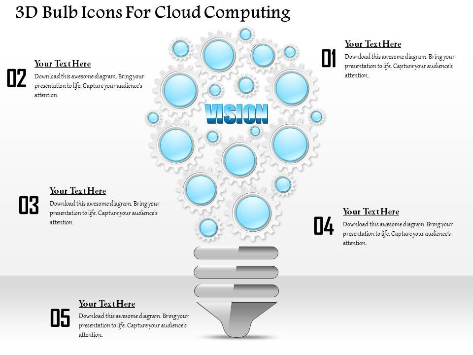 1114_3d_bulb_icons_for_cloud_computing_powerpoint_template_Slide01