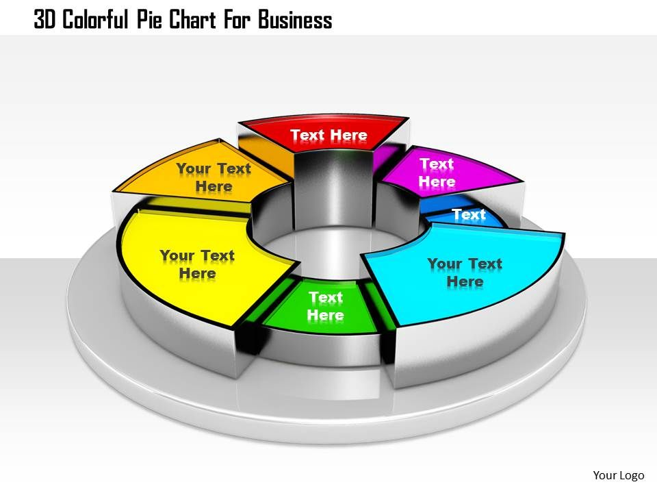1114_3d_colorful_pie_chart_for_business_image_graphics_for_powerpoint_Slide01