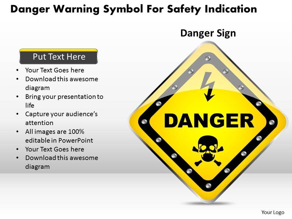 1114_danger_warning_symbol_for_safety_indication_powerpoint_template_Slide01