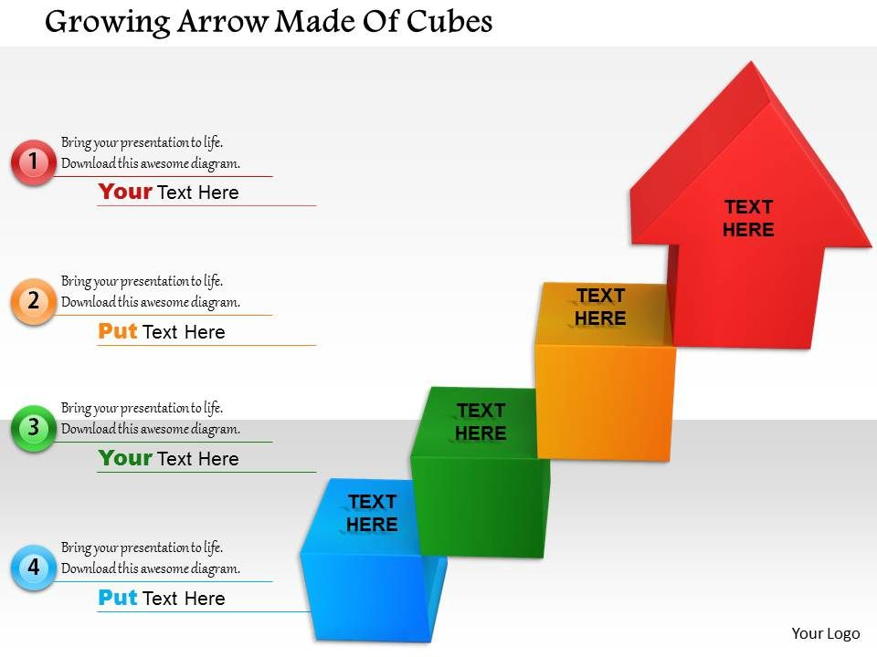 1114_growing_arrow_made_of_cubes_image_graphics_for_powerpoint_Slide01