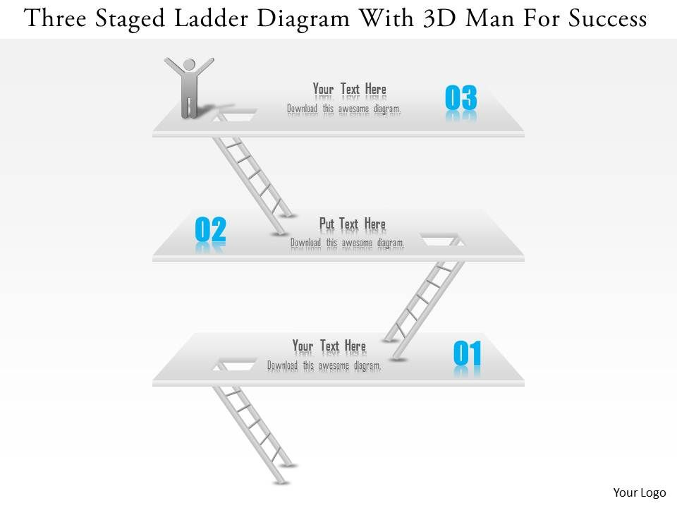 1114 three staged ladder diagram with 3d man for success powerpoint 1114threestagedladderdiagramwith3dmanforsuccesspowerpointtemplateslide01 ccuart Image collections