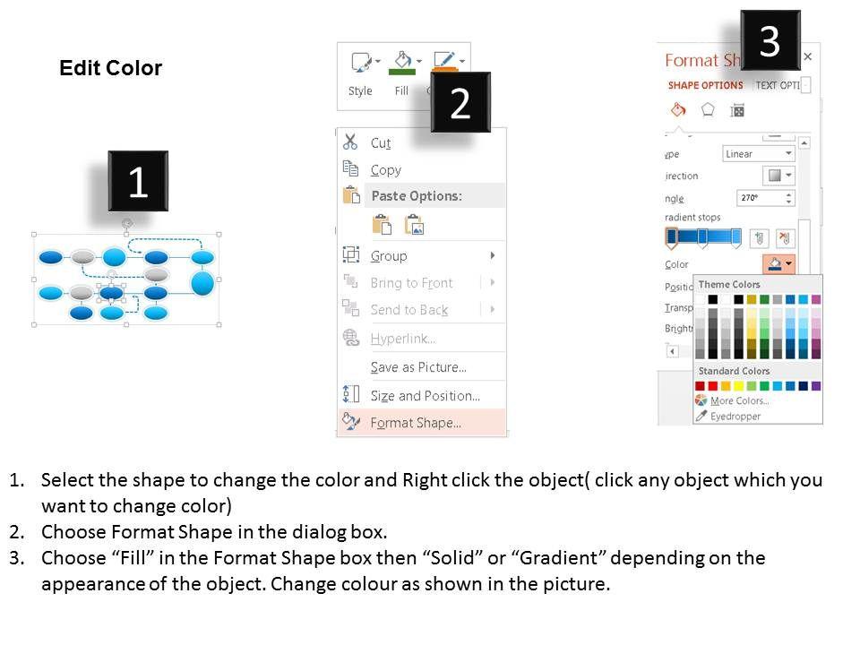 1114 Web Design Process Flow Chart Powerpoint Presentation