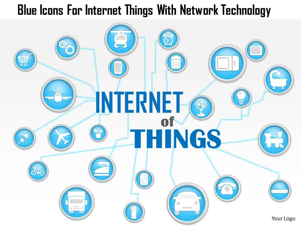 1214 blue icons for internet things with network technology 1214blueiconsforinternetthingswithnetworktechnologypowerpointtemplateslide01 toneelgroepblik