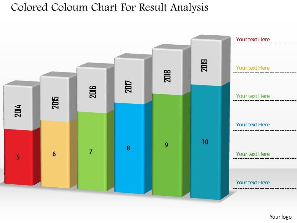 1214_colored_coloum_chart_for_result_analysis_powerpoint_slide_Slide01