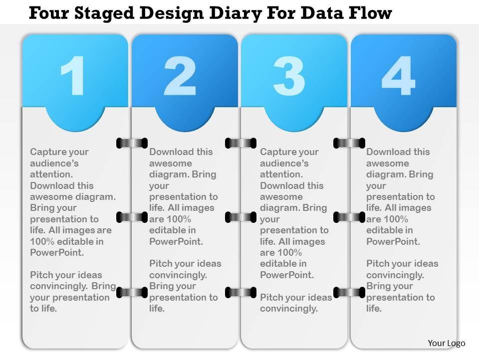 1214 four staged design diary for data flow powerpoint presentation 1214fourstageddesigndiaryfordataflowpowerpointpresentationslide01 1214fourstageddesigndiaryfordataflowpowerpointpresentationslide02 ccuart Images