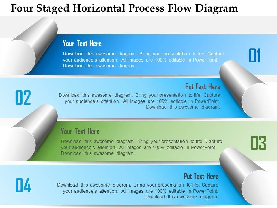 1214_four_staged_horizontal_process_flow_diagram_powerpoint_template_Slide01