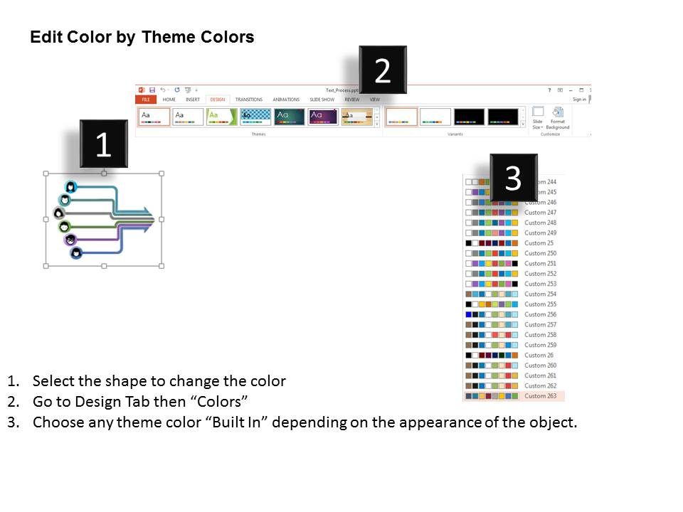 process flow diagram ppt template