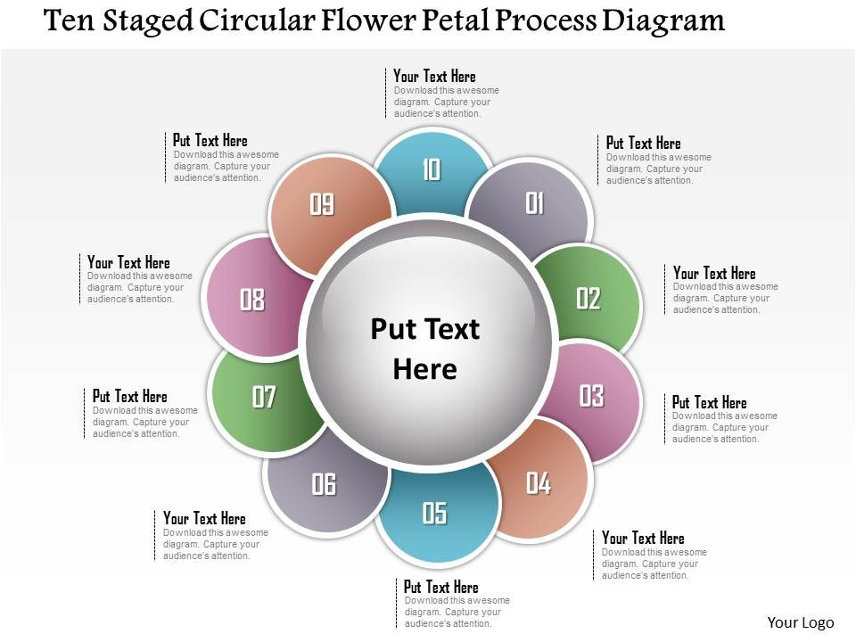 1214 ten staged circular flower petal process diagram powerpoint 1214tenstagedcircularflowerpetalprocessdiagrampowerpointtemplateslide01 pronofoot35fo Gallery