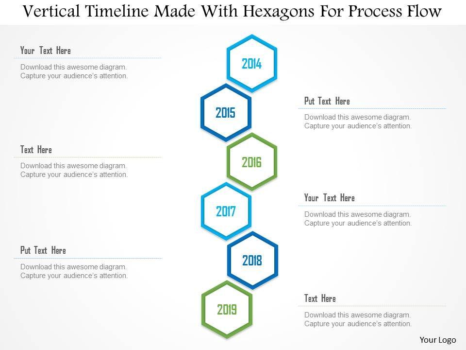 34463831 style essentials 1 roadmap 6 piece powerpoint presentation 1214verticaltimelinemadewithhexagonsforprocessflowpowerpointtemplateslide01 toneelgroepblik Images