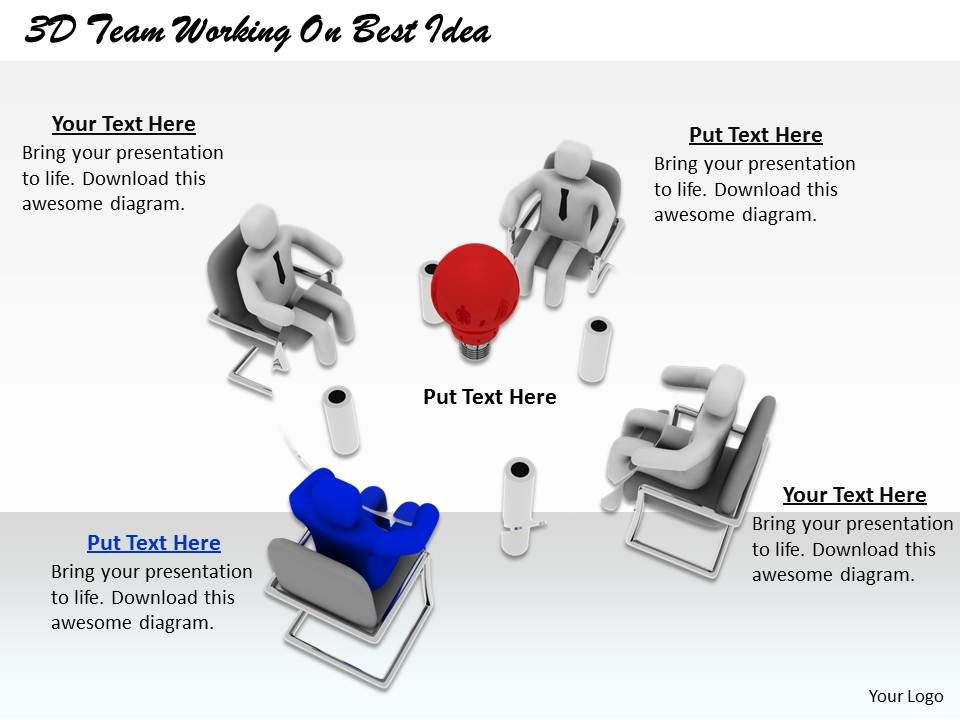 1813_3d_team_working_on_best_idea_ppt_graphics_icons_powerpoint_Slide01