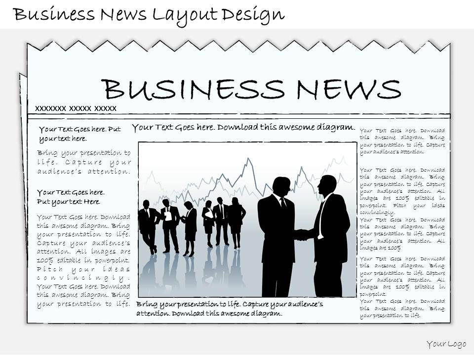 1814_business_ppt_diagram_business_news_layout_design_powerpoint_template_Slide01