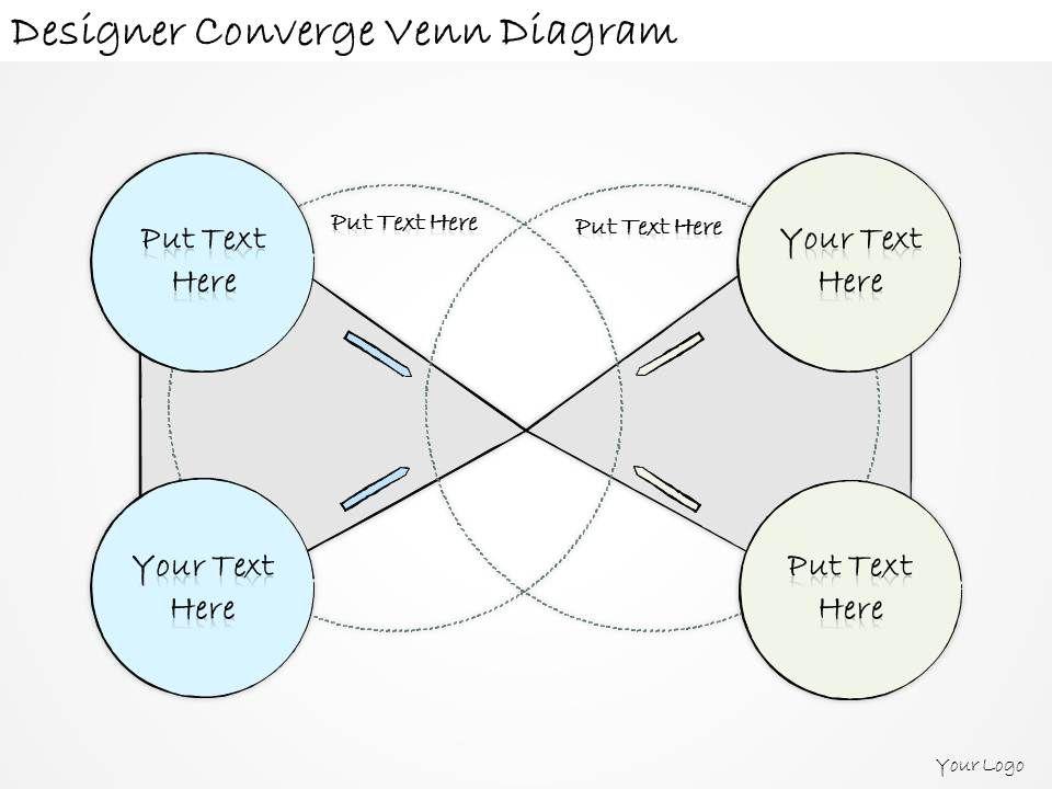 1814 Business Ppt Diagram Designer Converge Venn Diagram Powerpoint