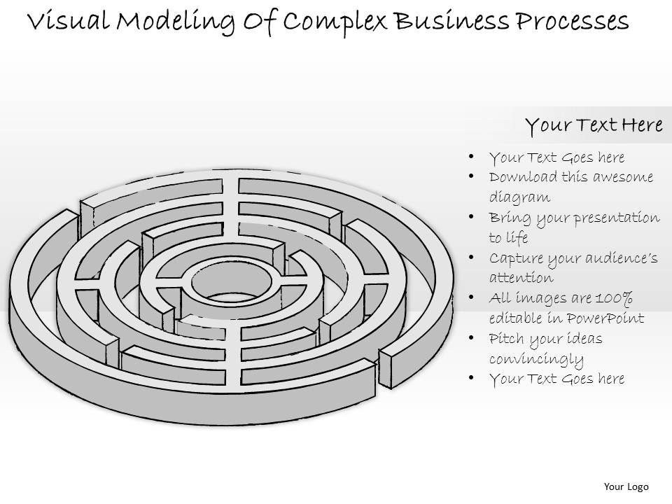 1814_business_ppt_diagram_visual_modeling_of_complex_business_processes_powerpoint_template_Slide01