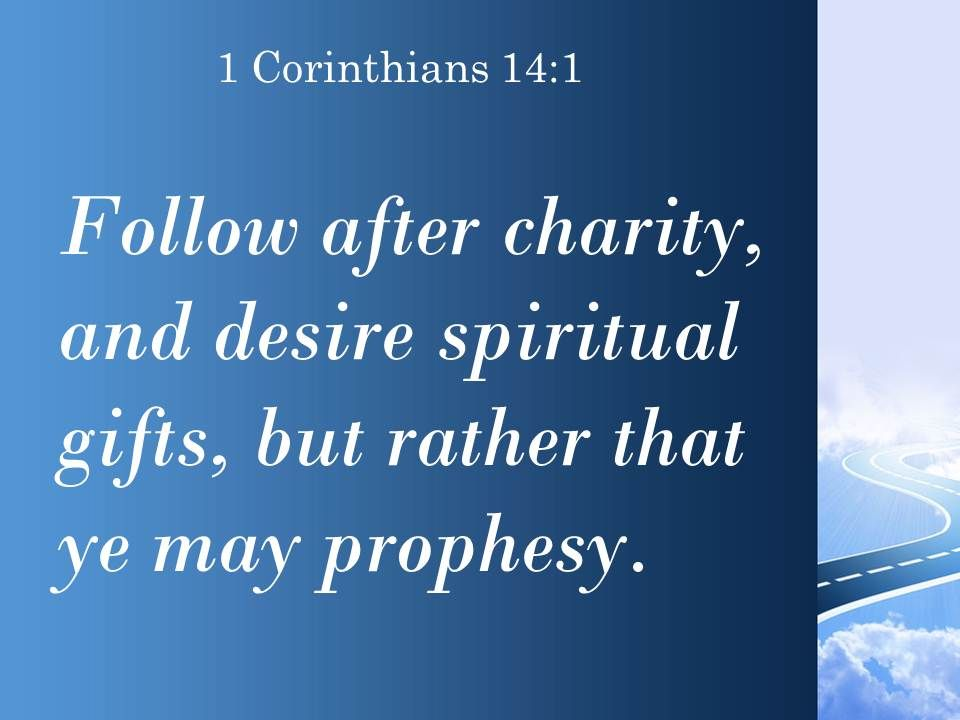 1 corinthians 14 1 follow the way of love powerpoint
